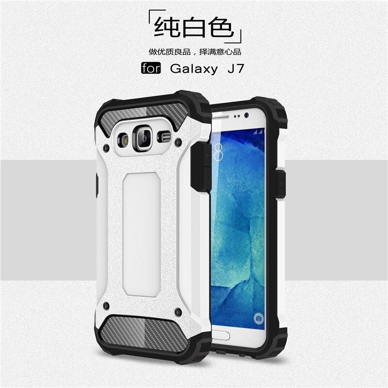 Hybrid carcasas para Cell Phone Back Cover For Samsung Galaxy J7 2016 - Ανταλλακτικά και αξεσουάρ κινητών τηλεφώνων - Φωτογραφία 3