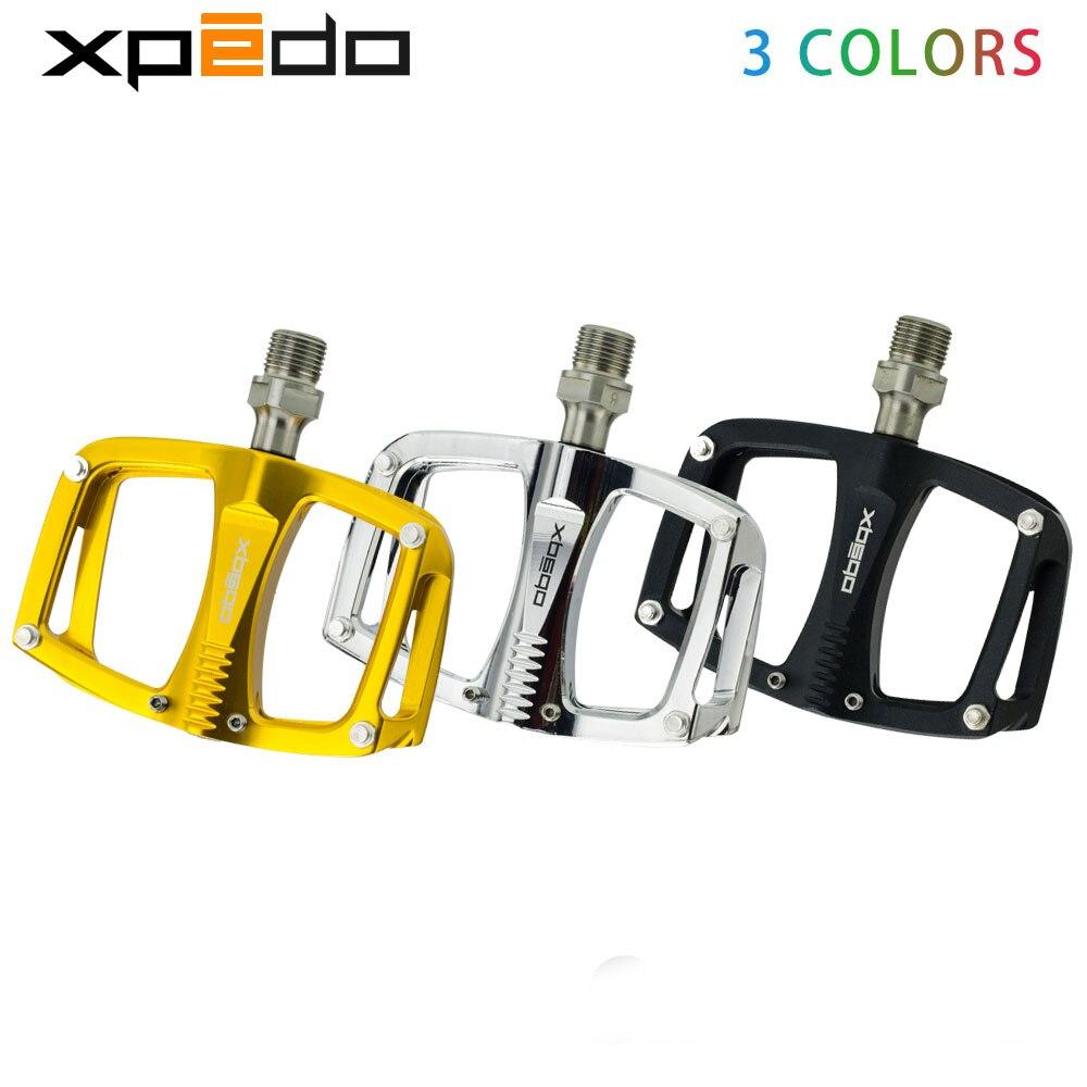 Wellgo xpedo C260 VTT Route Roulement Scellé Plate-Forme En Aluminium Pédales 195 g/paire titanium broche vélo pédales