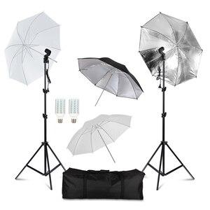 Image 1 - מקצועי צילום תאורת ציוד ערכת עם Softbox רכה רקע stand תפאורות אור נורות תמונה סטודיו