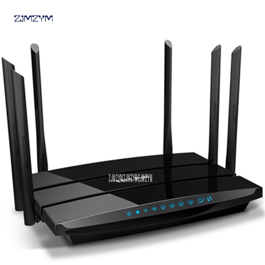 WDR7500 V6.0 Archer C7 Gigabit Wireless Wifi Router 1750Mbps Transmission rate 11AC Dual Band TP Link WDR7500 Roteador WI-FI tp link wireless router 802 11ac ac1750 dual band wireless wifi router 2 4g 5 0g vpn wifi repeater tl wdr7400 app routers