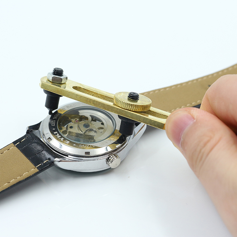 Universal 50mm ~ 13.5mm Disassembly Watch Opener  Tool Two Claws Open Back Cover Change Battery Clock Repair Hand Tools