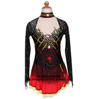 Ice Figure Skating Dress For Kids Fashion New Brand Figure Skating Dress For Competition DR3544