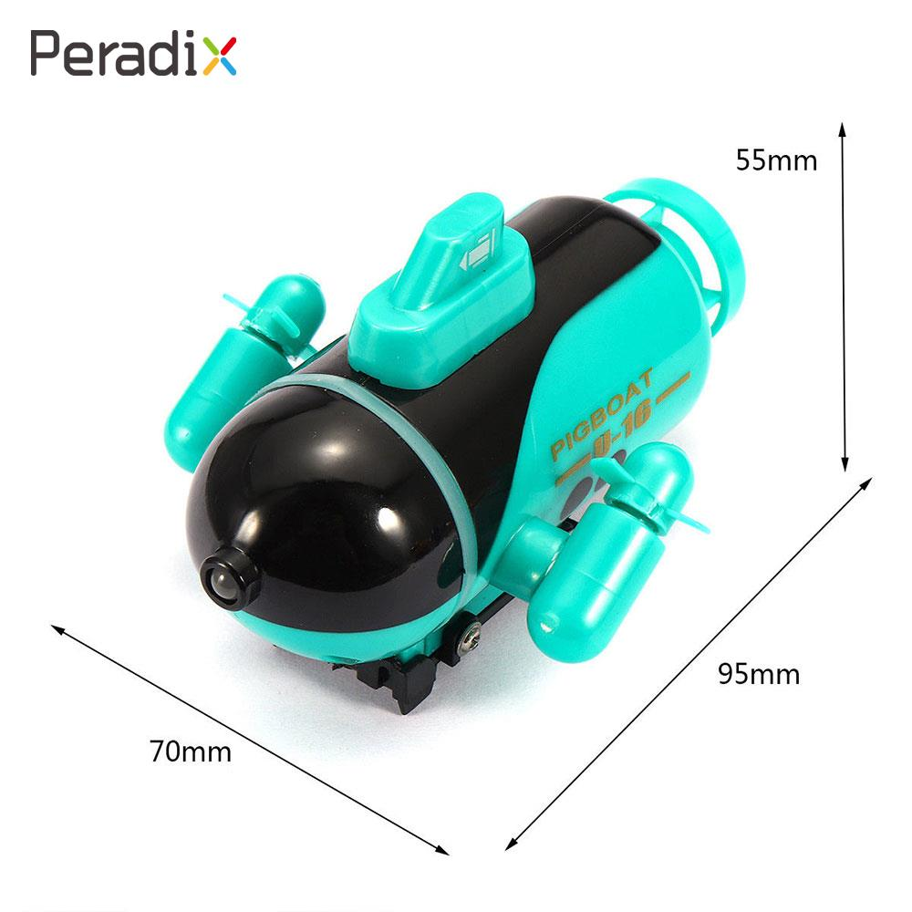 Peardix 4 Channels RC Submarine Ship Submarine Boat Toy Yellow Blue Green Kids Toy Bathing Toy Swimming Pool play with kids