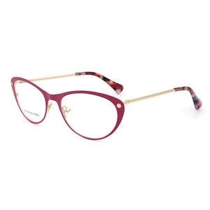 Image 1 - Women Cat Eye Stainless Steel High Quality Woman Eyeglasses Optical Fashion Female Eyewear Prescription Glasses Frame Spectacles