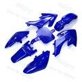 Blue Plastic Fairing Fender Kits For SSR Piranha Honda XR50 CRF50 50cc 70cc 90cc 110cc 125cc 140cc 150cc 160cc Pit Dirt Bike