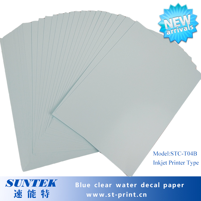 how to make water decal paper