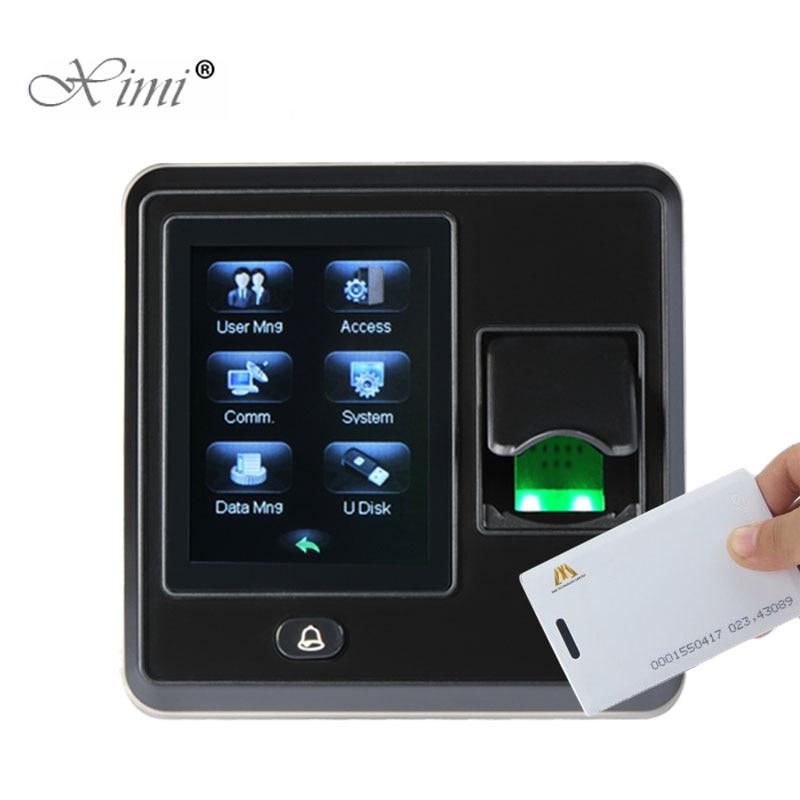 Biometric Fingerprint And 125KHZ RFID Access Control ZK SF300 TCP/IP Door Access Control System Fingerprint Time Attendance