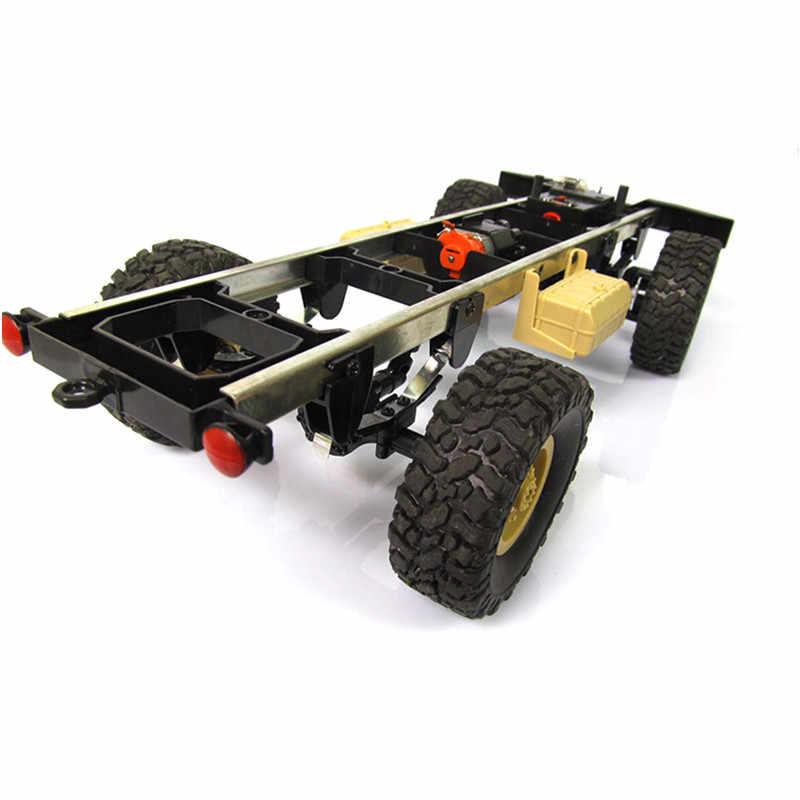 Nieuwe Collectie WPL WPLB-1 1/16 2.4G 4WD RC Crawler Off Road Auto Met Licht RTR Speelgoed Cadeau Voor Jongen kinderen