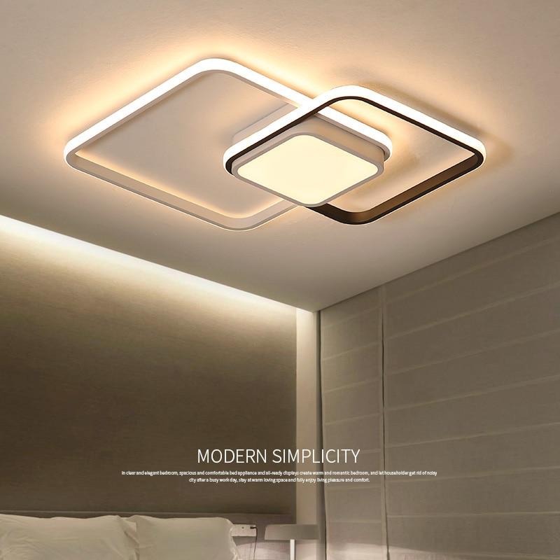 Novo design led luz de teto para sala estar jantar luminárias para teto luzes led para casa moderna luminária