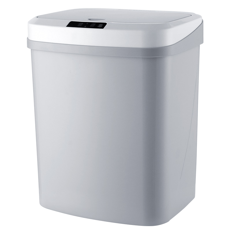 Home intelligent automatic induction electric trash can kick bucket charging version (infrared + knock double mode)