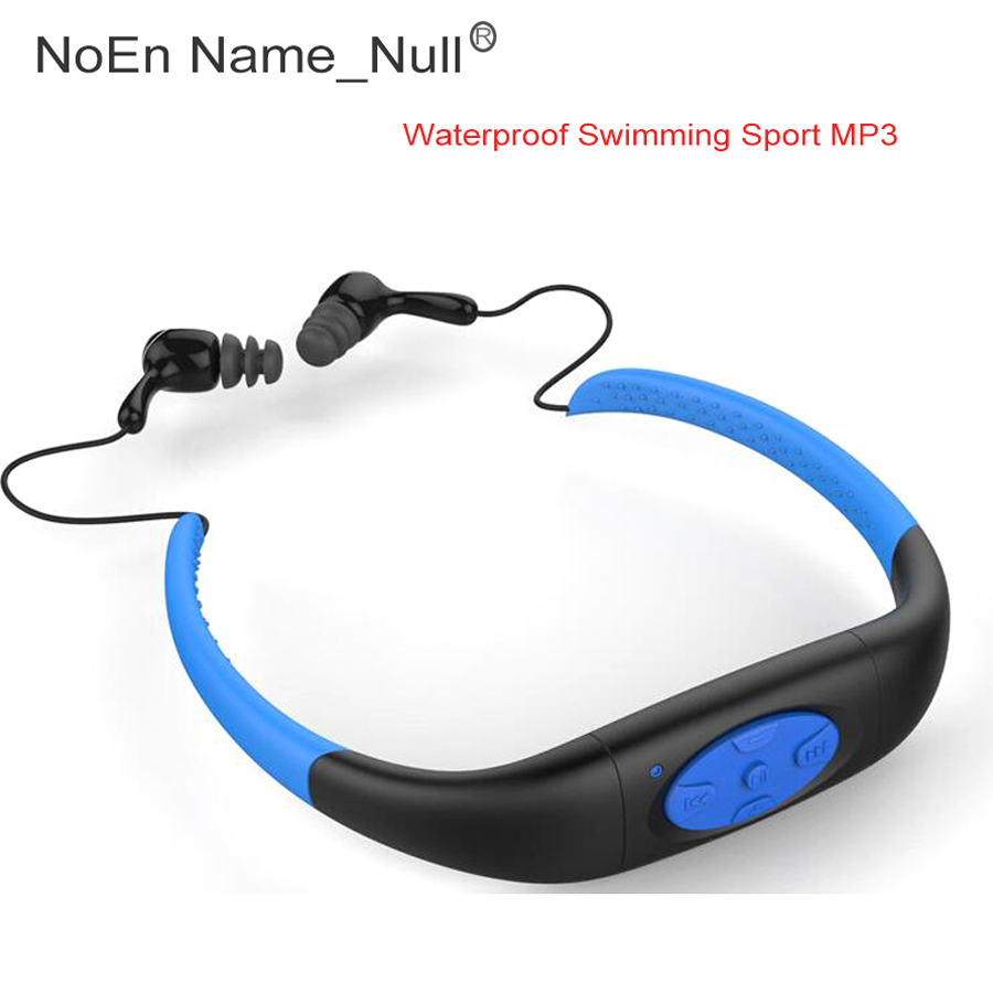 4G 8G MP3 Player Mini Music Underwater Sports IPX8 Waterproof Neckband Swimming Diving with FM Radio