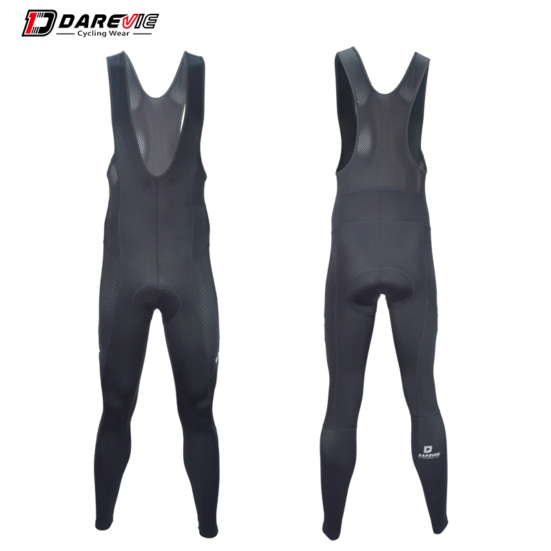 Darevie cycling long pants breathable bike bib pants quick dry antibacterial cycling bib pants 3D gel