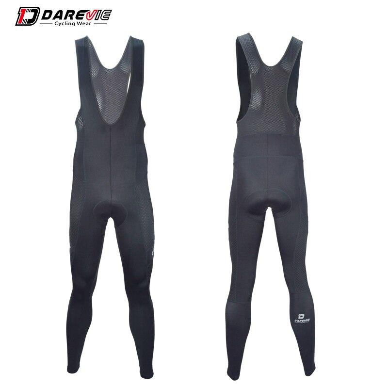 цена на Darevie long type bike bib pants quick dry antibacterial cycling bib pants 3D gel bike bib tights