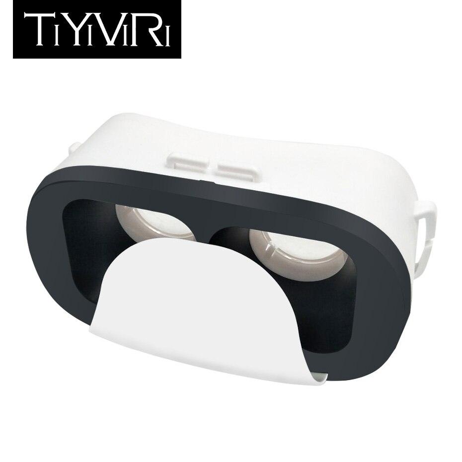 3d Brille Virtuelle Realität Brille Google Karton VR Gläser Headset für 4,0-6,0 zoll Smartphones Mini VR 3D Filme