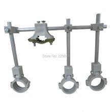 Multi suporte do suporte da alimentação lnb para o prato satélite ou a antena sustentam até 4 ku band lnb