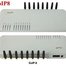 8 чипов GSM VoIP шлюз GoIP8, VoIP SIP GSM роутер шлюз GoIP 8 для IP PBX-продвижение продаж