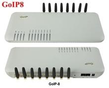 8 chips GSM VoIP Gateway GoIP8, SIP VoIP GoIP GSM gateway Router 8 para IP PBX de Promoción de Ventas