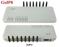 8 microplaquetas gateway goip8 de g/m voip, gateway goip 8 do roteador de voip de voip para pbx ip-promoção de vendas