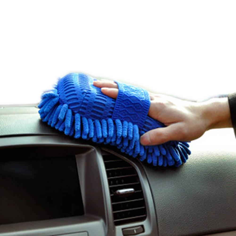 Super Car Wash Glove Car Hand Soft Towel Microfiber