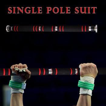 ประตูแนวนอนเหล็ก 200 กก.ปรับ Gym Gym Push Up ดึงบาร์สำหรับ Core การฝึกอบรม 62 ซม.-105 ซม.telescopic