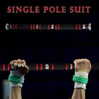 Door Horizontal Steel 200kg Adjustable Home Gym Fitness Push Up Pull Bar for Core Training 62cm 105cm telescopic
