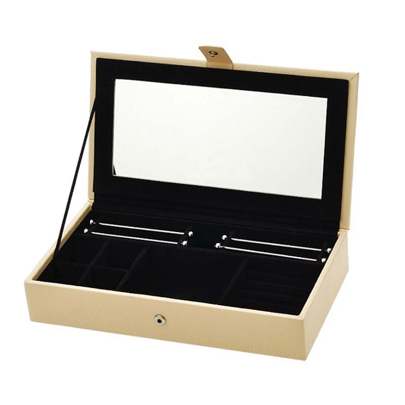 Charmily Simple and Gorgeous Jewelry Multi function Storage Box Protect Your Jewelry Original Brand Fits Pandora