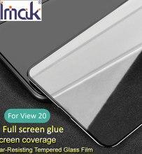 Imak Pro + полный экран панель Клей закаленное стекло для huawei Honor View 20 Олеофобное