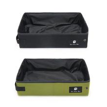 High Grade Portable Cat Litter Box Folding Waterproof Carrier Foldable Toilet Outdoor