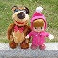 Quente língua russa falar boneca dança musical masha dolls & stuffed plush toys presente para as crianças por atacado
