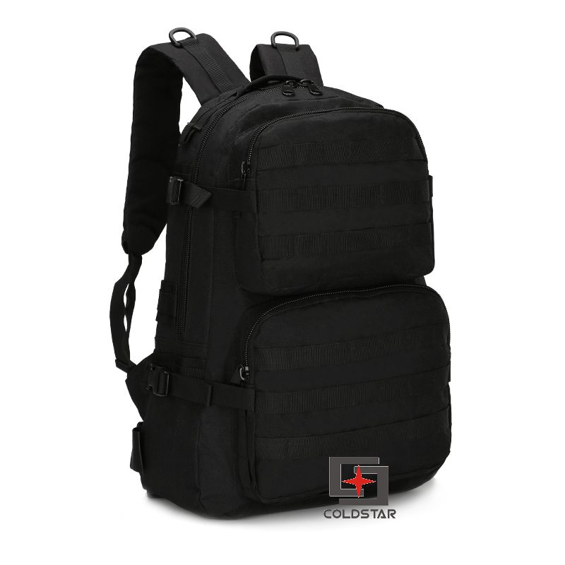 Black Color Spring Summer New Canvas Hiking Bag Men s Tactical Military Backpack Solid School Bags