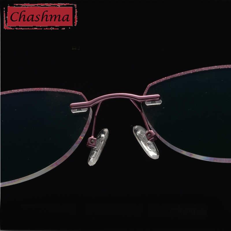 Óculos sem aro anti azul ray óculos de computador quadros ópticos olho de gato oprawki okularowe damskie occhiali da vista donna