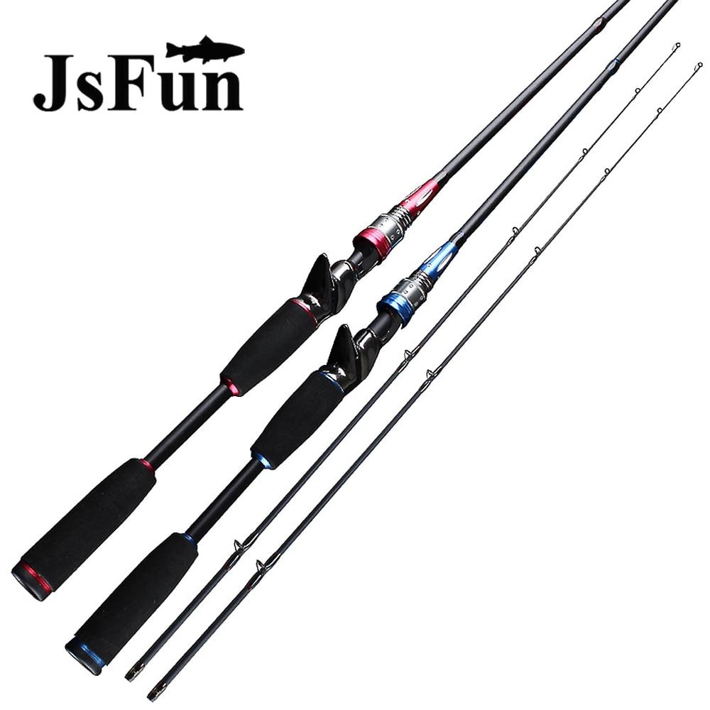 Jsfun casting spining fishing rod m mh ml power 2 tips for Big 5 fishing rods