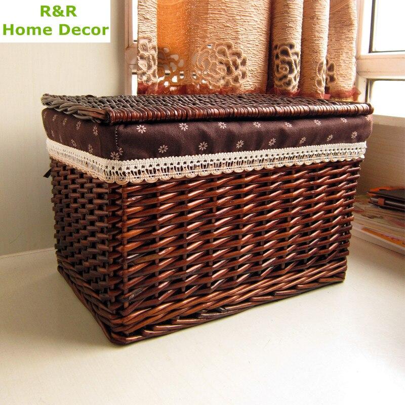 tienda online r u r caliente pequeos con tapa tela para ropa sucia cesto de la ropa canasta de de mimbre cesta de mimbre para
