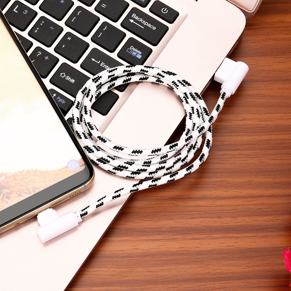 1M 2M USB Type C Cable USB 2.0 to USB Type-C Fast Charging & Sync Data Cable High Speed Certified Cell Phone Accessories