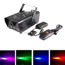 Беспроводное управление LED 400 Вт дым машина/RGB изменение цвета машина тумана/профессиональный сценический дым эжектора/DJ оборудование/400 Вт fogger
