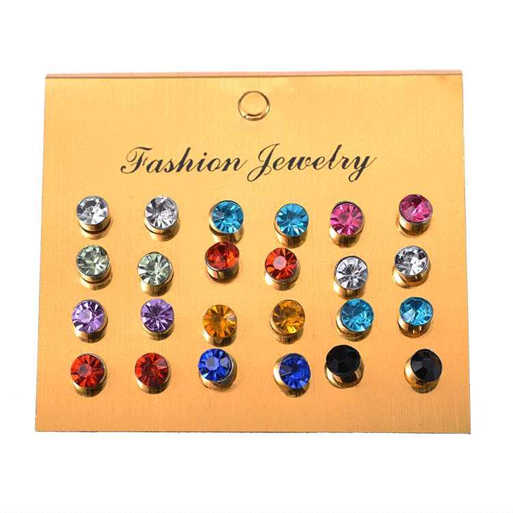 12 пар Имитация Жемчуга Комплект сережек для женщин ювелирные изделия на шар с ушками комплект серег бижутерия brincos Bijoux