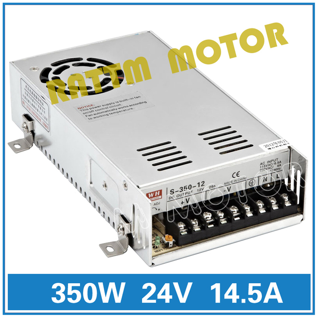 350W 24V Switch DC Power Supply! CNC Router Single Output Power Supply 350W 24V For Foaming Mill Cut Laser Engraver Plasma