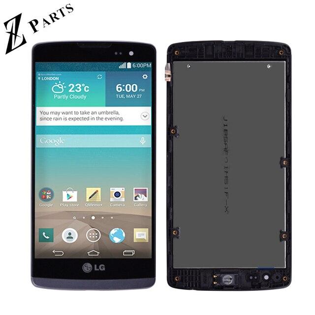 Original pour LG Leon H340 h320 h324 H340N H326 MS345 C50 LCD écran tactile numériseur assemblée avec cadre livraison gratuite
