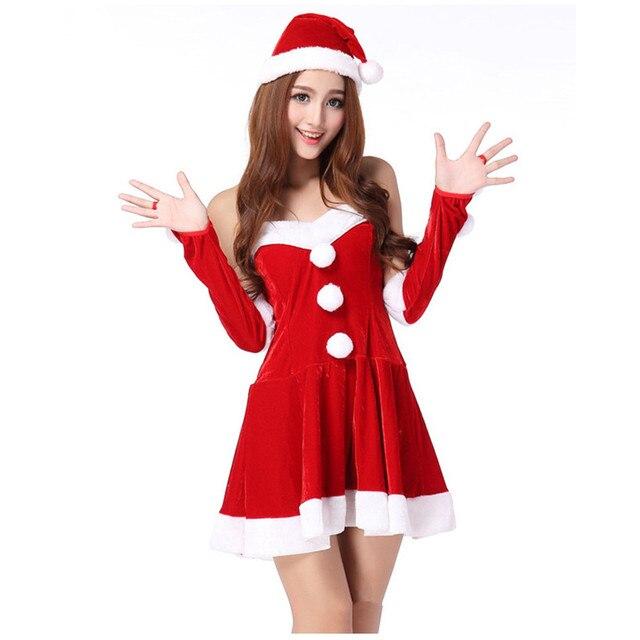 Карнавальный костюм секси санты