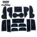 Для Hyundai IX35 2009-2012 2013 2014 2015 автомобильный стиль Новые Резиновые Нескользящие коврики для межкомнатной двери коврики 15 шт. автомобильные аксес...