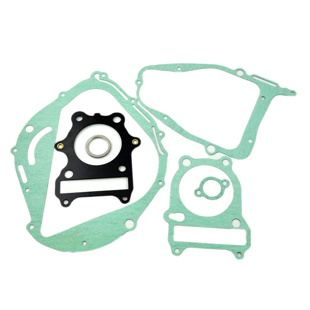 For Suzuki GN250 Motorcycle Rebuild Full Complete Engine Cylinder Top End Crankcase Clutch Cover Exhaust Pipe Gasket Kit Set