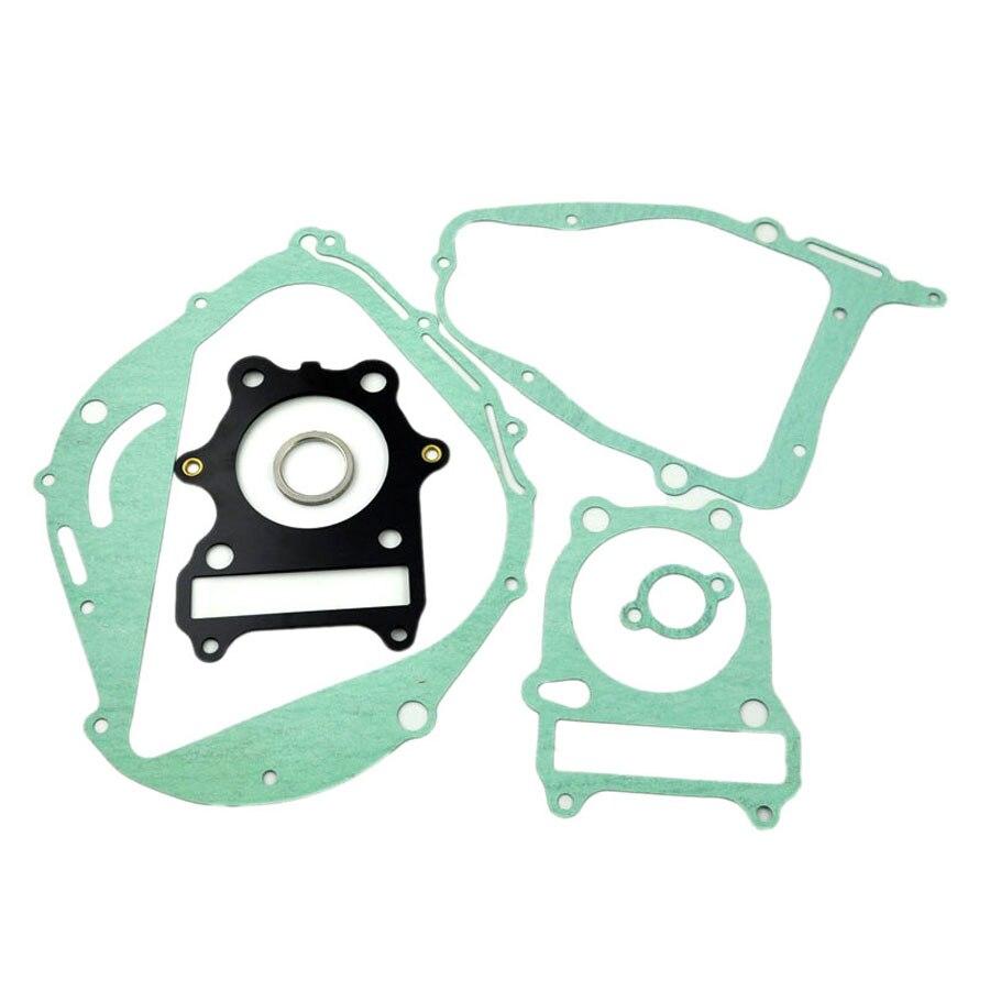 Prix pour Pour Suzuki GN250 Moto Reconstruire Complet complet Moteur Cylindre Top Fin Carter D'embrayage Couverture Tuyau D'échappement Joint Kit Ensemble