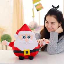 Christmas Plush Toys Gifts For Kids Children 22 35 55cm Music Kawaii Stuffed Animals Doll Decoration Bedroom