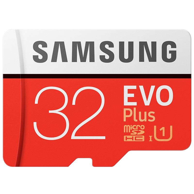 SAMSUNG Memory Card Micro SD  16GB 32GB 64GB 128GB 256GB 512G SDHC SDXC Grade EVO+ Class 10 C10 UHS TF Cards Trans Flash Microsd