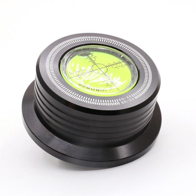Виборг LP528B 50 Гц, черный, 280 г, стабилизатор диска с записью веса LP, вертушка с вращающимся механизмом