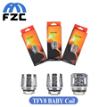 10pcs/lot Original Smok TFV8 Baby Coil Q2 X4 T8 Coil for TFV8 Baby Beast Tank Cloud Beast Replacement Coil Head for E Cigarette