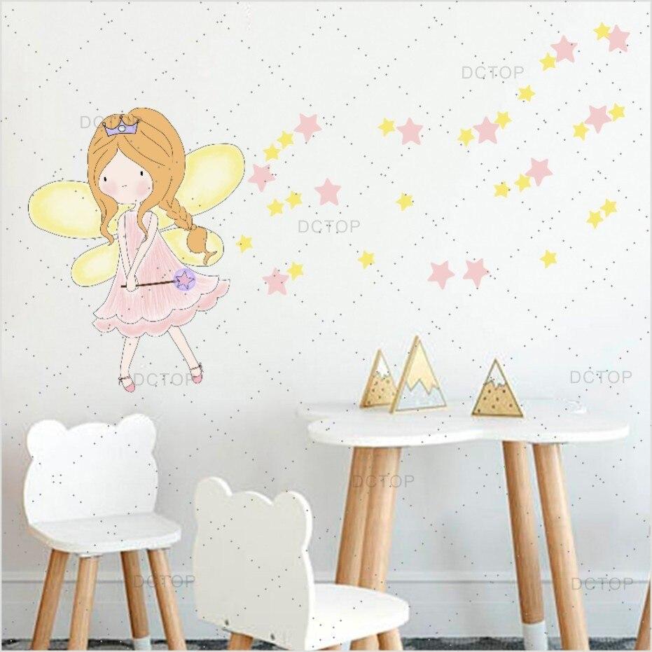 Aliexpress.com : Buy Colorful Fariy Clipart Color Wall