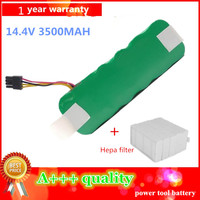 14 4V 3500mAh Vacuum Cleaner Battery High Quality Battery For Ecovacs Mirror CR120 X500 X580 Battery