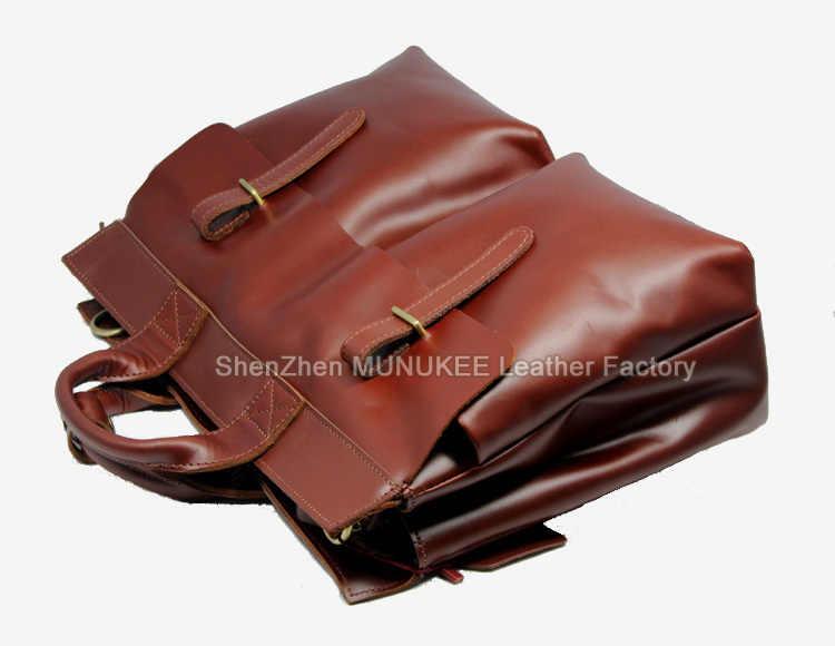 高級イタリア本革メンズブリーフケースビジネスバッグレザーラップトップブリーフケース男性ショルダーバッグメッセンジャーバッグトートバッグ