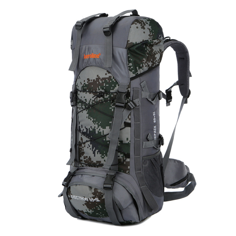 1bef27b55d 70L Outdoor Climbing Bags Waterproof Hiking Bag Sports Backpack Camping  Travel Pack Mountaineer Climbing Sightseeing Rucksack-in Climbing Bags from  Sports ...
